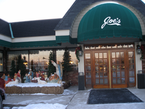 Joe's Deli Restaurant.